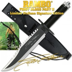 RAMBO FIRST BLOOD BOWIE PART II SYLVESTER STALLONE EDITION_67774