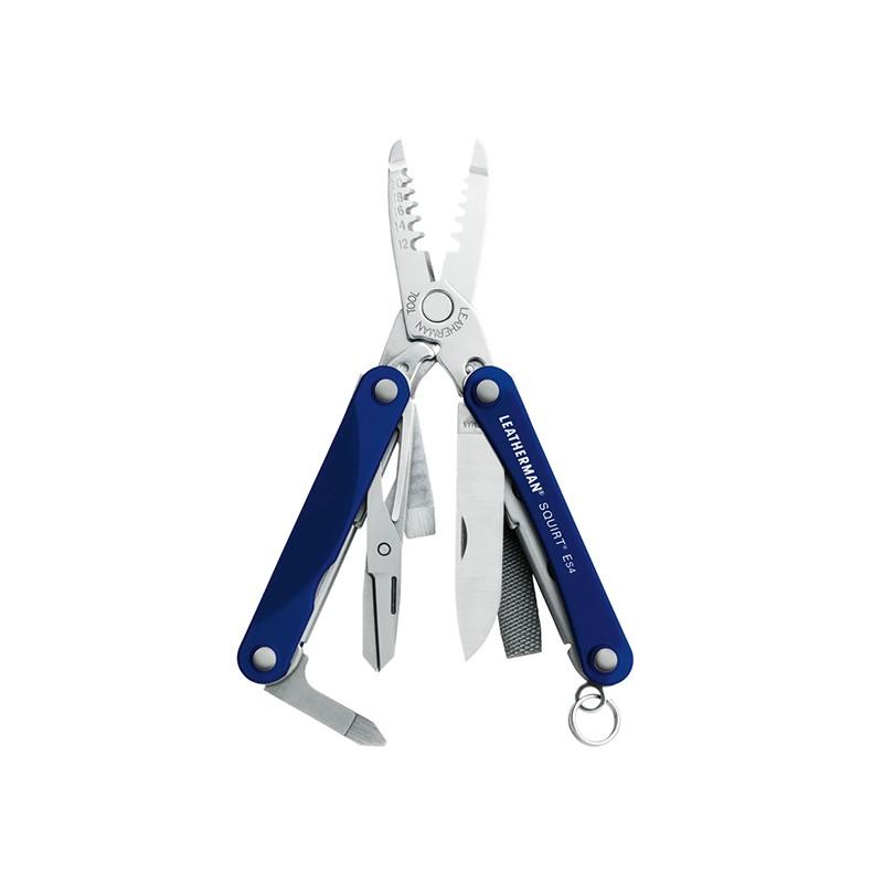 LEATHERMAN SQUIRT ES4 Blau Multi-Tool_67938